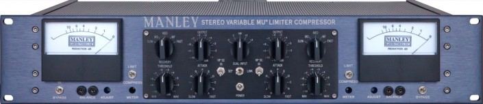 manley stereo variable mu mastering compressor