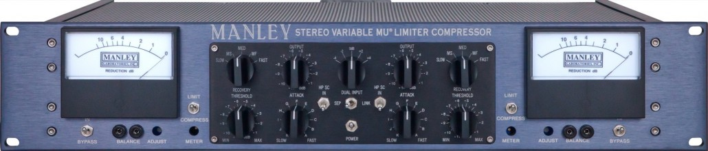 manley stereo variable mu mastering